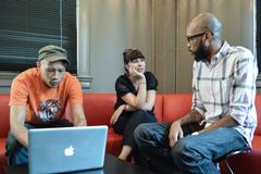 Steven Darby, Jeanette Fernandez & Erik Ford of Heavy Heavy