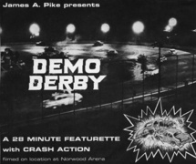 An Original 1964 Demo Derby Flyer