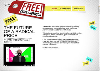 Wix Offers Free eBook on Freemium Model, by Wired Magazine's Chris Anderson