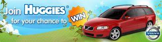 Huggies Australia Volvo Competition