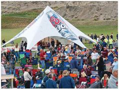 Coors Light StarShade Canopy, starting at $1700