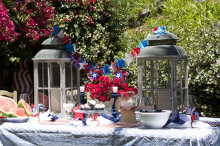 Interior Designer Elizabeth Lamont of Malibu's Room at the Beach Shares Fourth of July Party Ideas