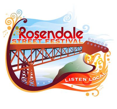 Rosendale Street Festival Logo