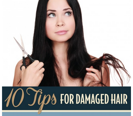 Philip Pelusi Salons offers professional advice for treating damaged hair with their newly published infographic.