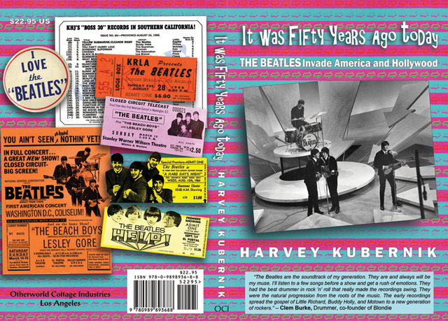 Harvey Kubernik's Beatles Book Cover