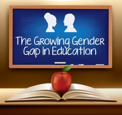 The Grand River Academy illustrates the growing gender gap in education with the release of their latest infographic.