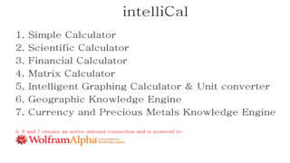 New All-Purpose Calculator App, IntelliCal, Now Available In The Windows Store