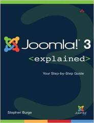 """Joomla! 3 Explained"" by Steve Burge Has Been Delivered"