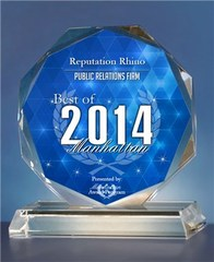 Reputation Rhino Receives 2014 Best of Manhattan Award