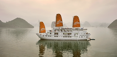 Paradise cruise in Halong Bay