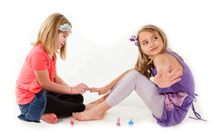 Kid-friendly, Non-toxic, Spill-proof  Bo-Po (Brush On - Peel Off) Nail Polish from Worx Toys.