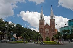 Summer in Saigon - Saigon Notre Dame Basilica