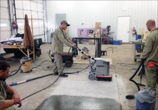 Hopkins County Jail Spearheads New Concrete Polishing Training Program For Inmates Using WerkMaster Raptor XT Concrete G…