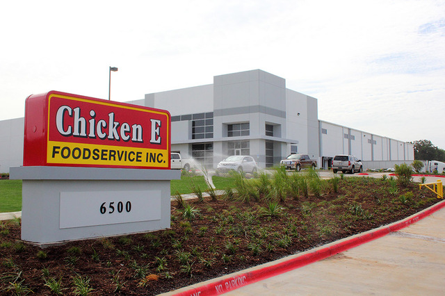 Chicken Express Cold Storage Warehouse / Distribution Center in Burleson, Texas