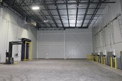 Freezer area of Chicken Express Cold Storage Warehouse / Distribution Center in Burleson, Texas