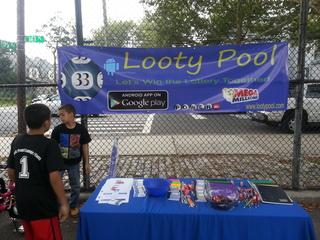 Looty Pool - Fastest Growing Lottery Pool APP Sponsored Inner City Back to School Drive