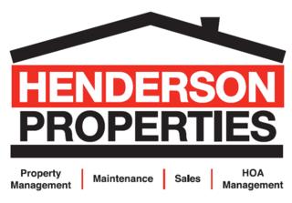 Henderson Properties Announces September Food Drive