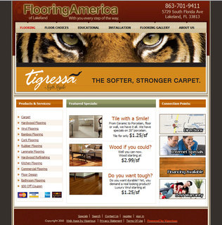 The Owners of Flooring America in Lakeland, FL Release New Website