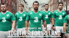 The New Ireland Rugby Kit. Four Provinces, One Team.