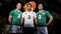 Ireland Home And Away Rugby Kits