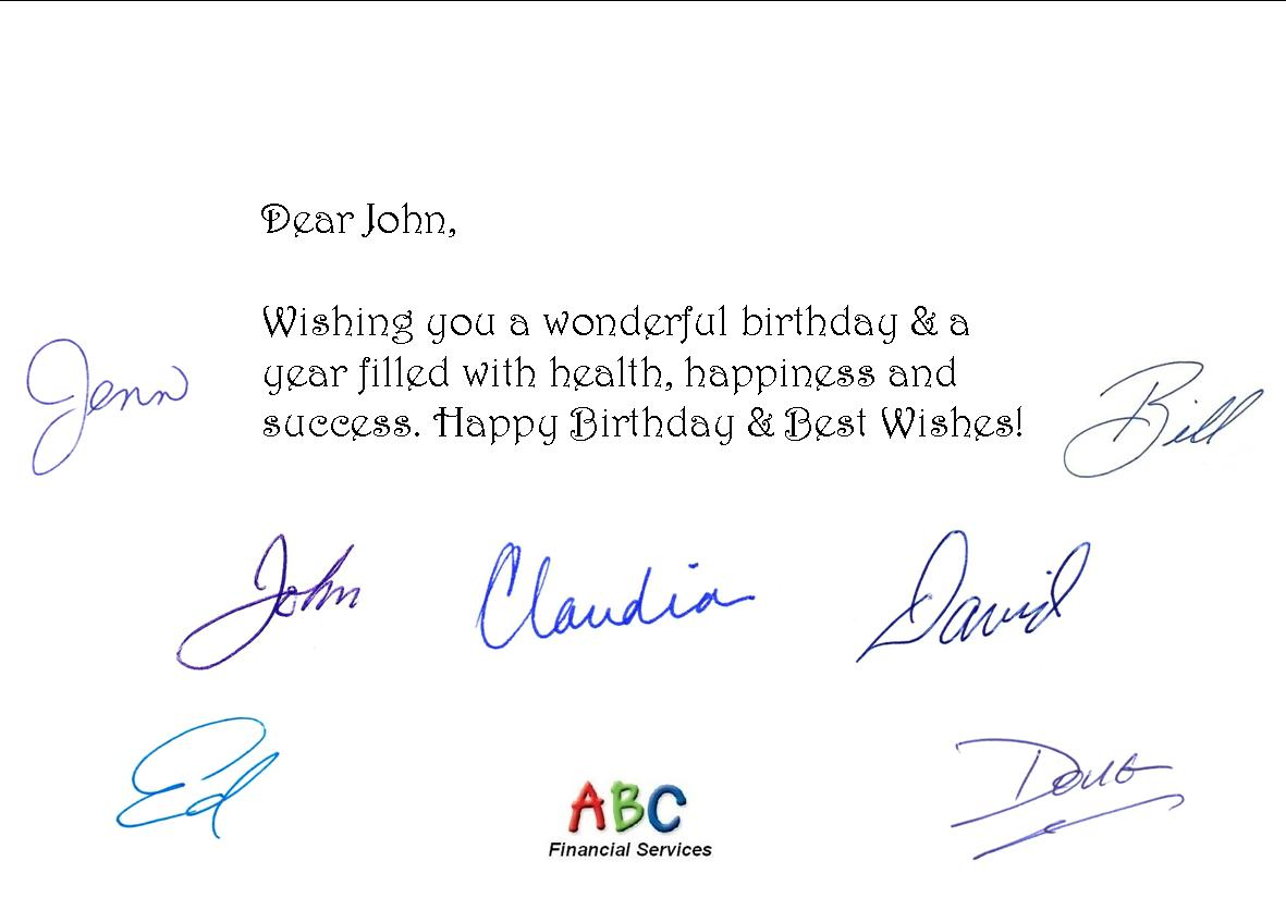 Fully Automated Birthday Card Service Helps Professionals Show ...