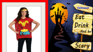 Announcing Halloween Costumes For Women, Dc Comics Wonder Woman T-shirt Discount