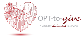 Employees of IT Staffing Company Optomi Spend Workday Helping Others