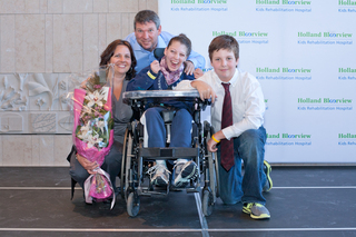 Family raised $1 million for respite care programs at Holland Bloorview Kids Rehabilitation Hospital