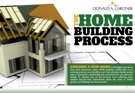 Don gardner details the home building process in their Home building process