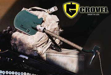 New Multi-Tool Invention: Crovel Folding Shovel