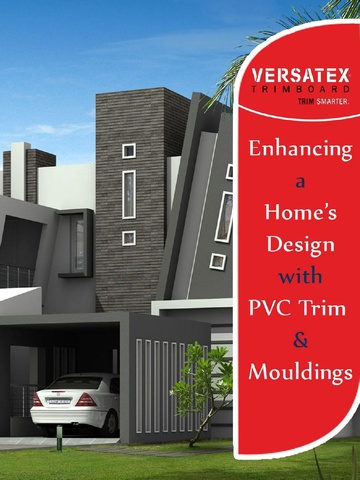 Enhance the look of any home with PVC trim and mouldings from Versatex