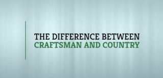 Donald A. Gardner Architects Defines the Differences between Craftsman and Country Style Home Floor Plans in New Video