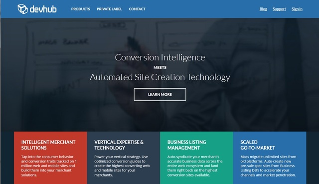 DevHub.com flagship solution by EVO Inc based in Seattle, WA