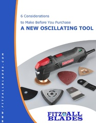 New White Paper from Fitz All Blades Helps Customers Assess their Oscillating Tool Needs