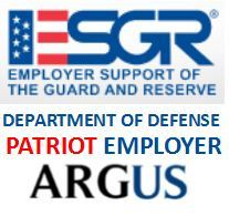 "Office of The Secretary of Defense Awards ""Patriot Employer"" Award to Argus Chief Executive"