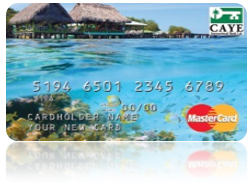 Caye International Bank Offshore Banking Debit Card