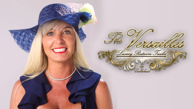 Kimberly Howard and 'The Versailles' Luxury Restroom Trailer