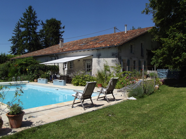 A typically popular stone built rural house popular with foreign buyers in France