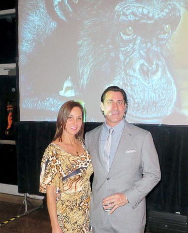 Laura Guttridge at the 6th Annual Chimp's Kitchen Gala