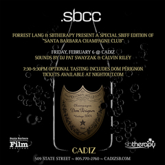 Cadiz Restaurant Hosts Special SBIFF Edition of Santa Barbara Champagne Club