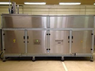 Disruptor 2000 series - 1 500 litres per hour capacity