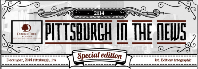 Checkout some of Pittsburgh's latest accolades with help from the new infographic from the DoubleTree Pittsburgh Downtown