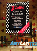 """Cocktails for a Cause"" event hosted by Any Lab Test Now of San Antonio, TX"