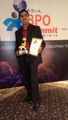 CMO Axis wins the 'Excellence and Leadership in Outsourcing Award' at the Asia BPO Summit 2015