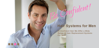 Natural-Looking French lace Hair System for Men Now Available at Confident Hair