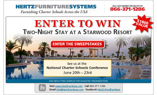 Hertz Furniture Charter Appreciation Sweepstakes