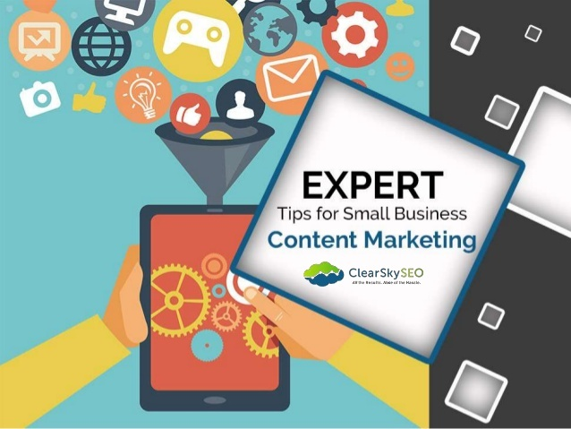 Don't let your company's content marketing strategy fall behind your competitors and stay ahead by checking out Clear Sky's expert tips.