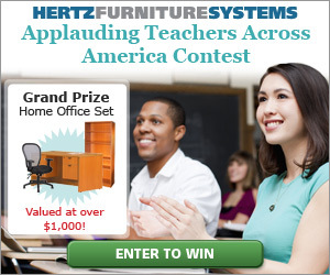 Hertz Furniture Contest Offers K-12 Teachers a Chance To Win a Home Office Set Through July