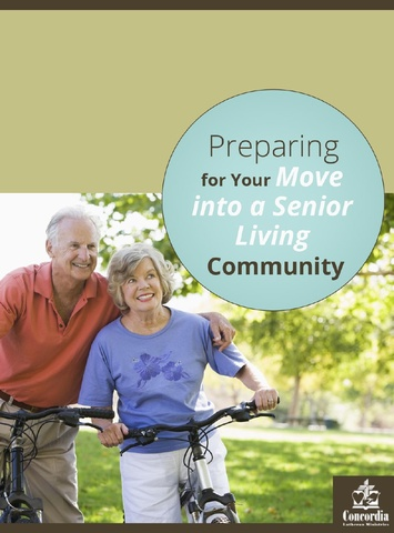 If you need help preparing for your big move into a senior living community, check out the white paper article from Concordia Lutheran Ministries.