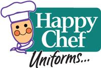 Happy Chef Uniforms Logo